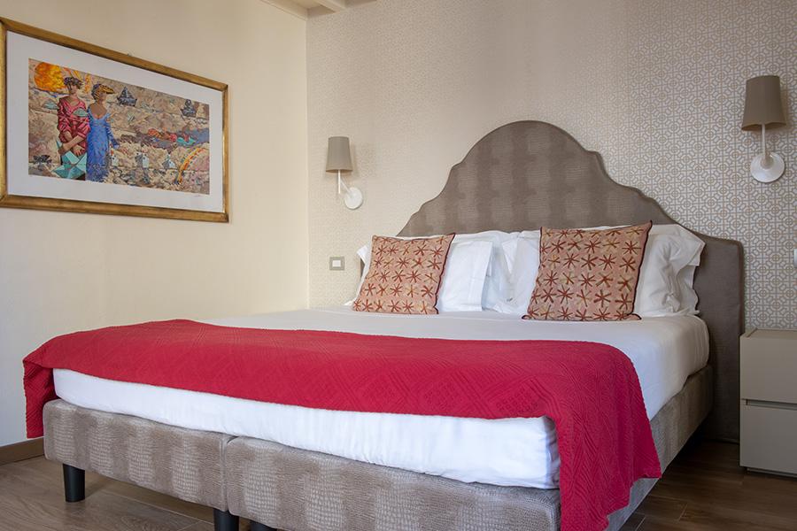 camera letto battipalla B&B Firenze Canto degli Aranci