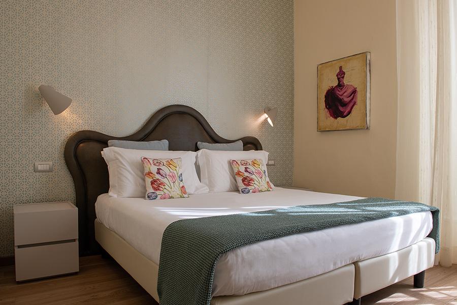 camera letto diluvio B&B Firenze Canto degli Aranci