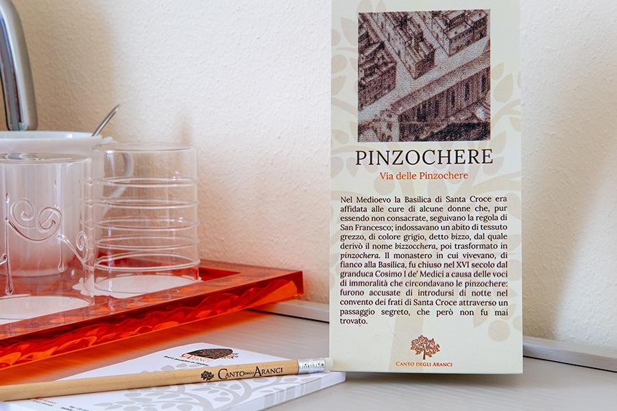 pinzochere B&B Firenze Canto degli Aranci