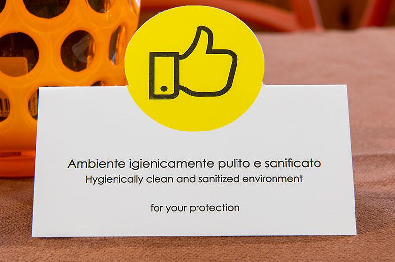 sanificazione B&B Firenze Canto degli Aranci