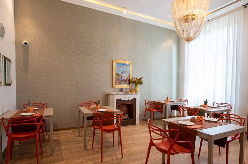 sala colazione B&B Firenze Canto degli Aranci