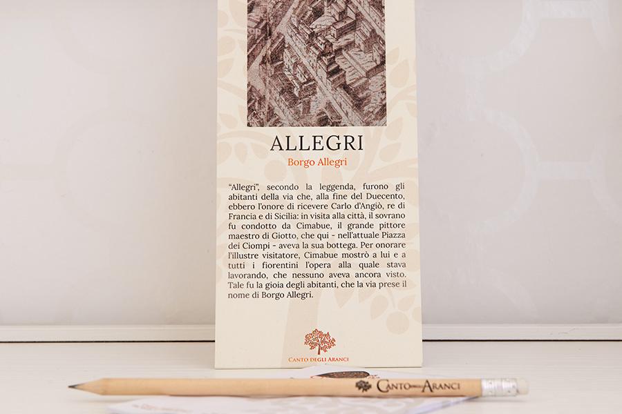 camera allegri B&B Firenze Canto degli Aranci